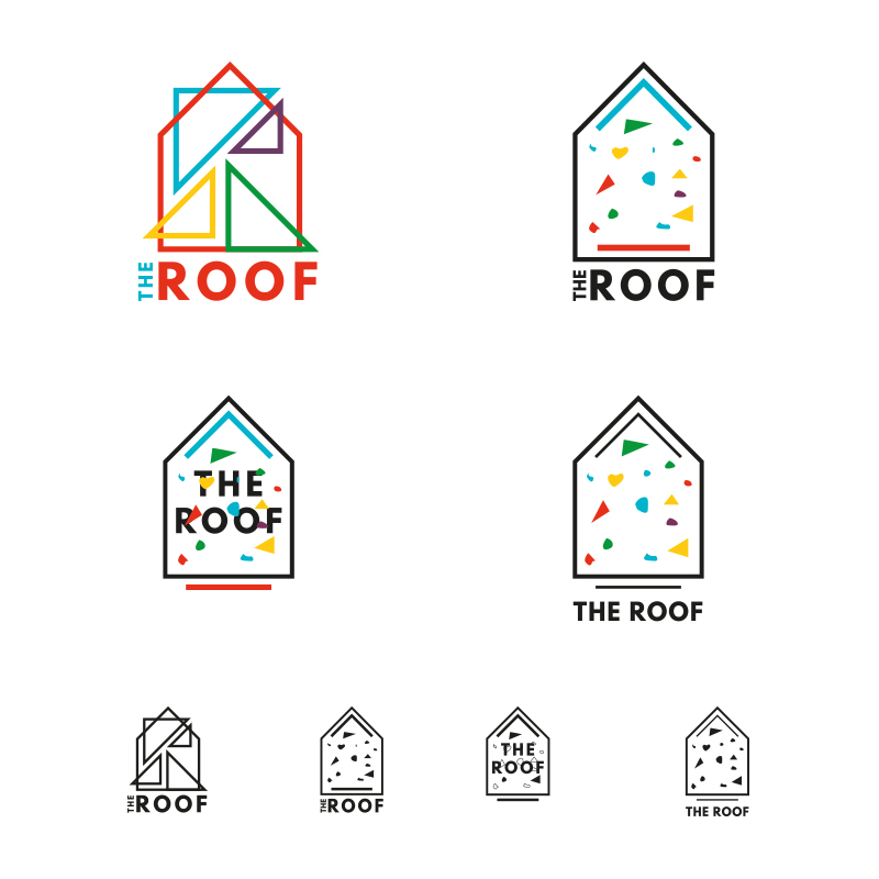 logo the roof 2 arnaudneubert.com